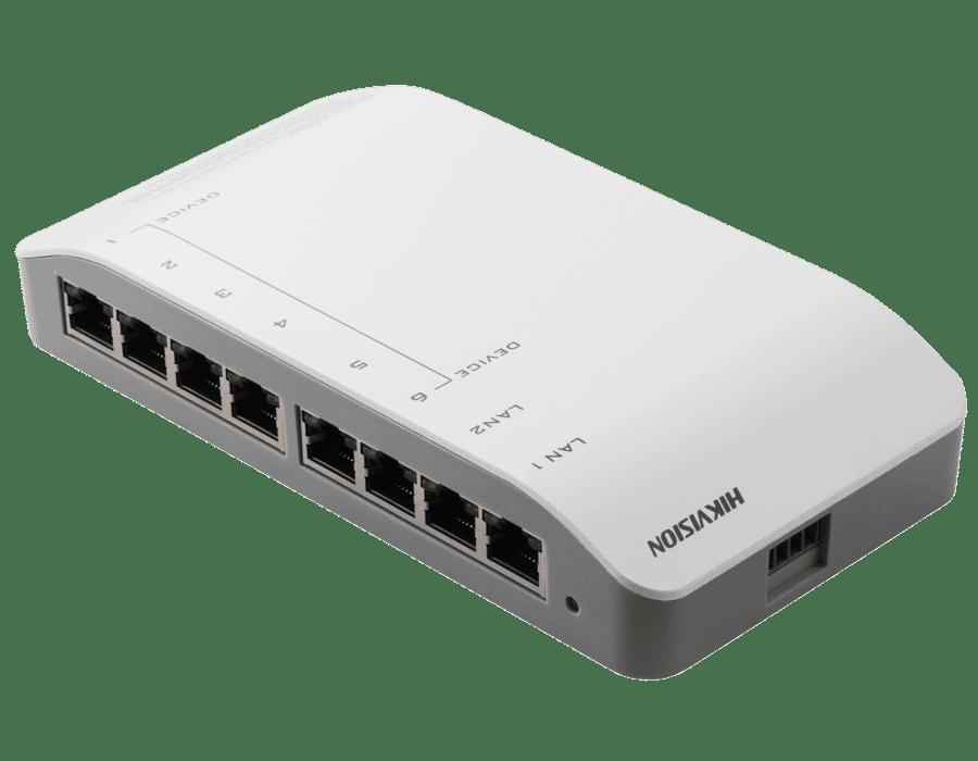 Hikvision DS-KAD606-P 6 Way Intercom Switch