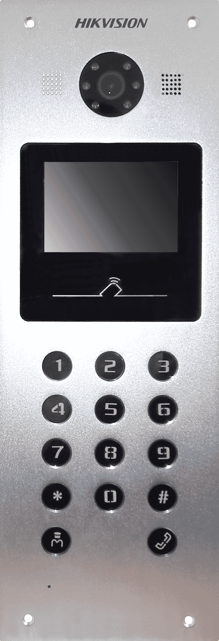 Hikvision DS-KD3002-VM Keypad Video Intercom Door Station | Connectec uk