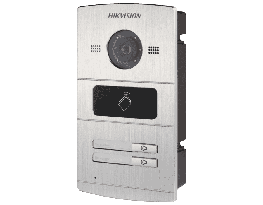 Hikvision DS-KV8202-IM 2 Button Video Intercom Mini Door Station