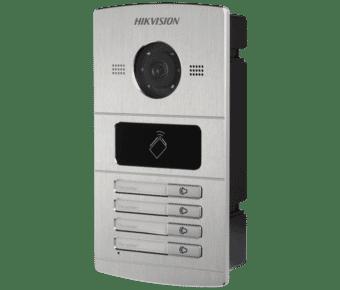 Hikvision DS-KV8402-IM 4 Button Video Intercom Mini Door Station