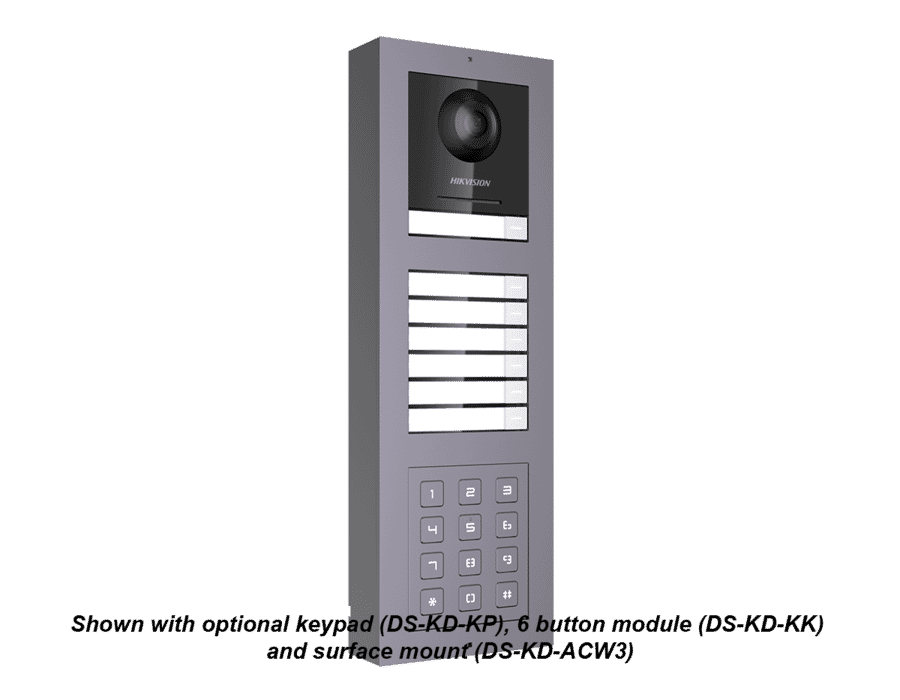 Hikvision DS-KD8003-IME2 2-Wire Video Intercom Camera Module