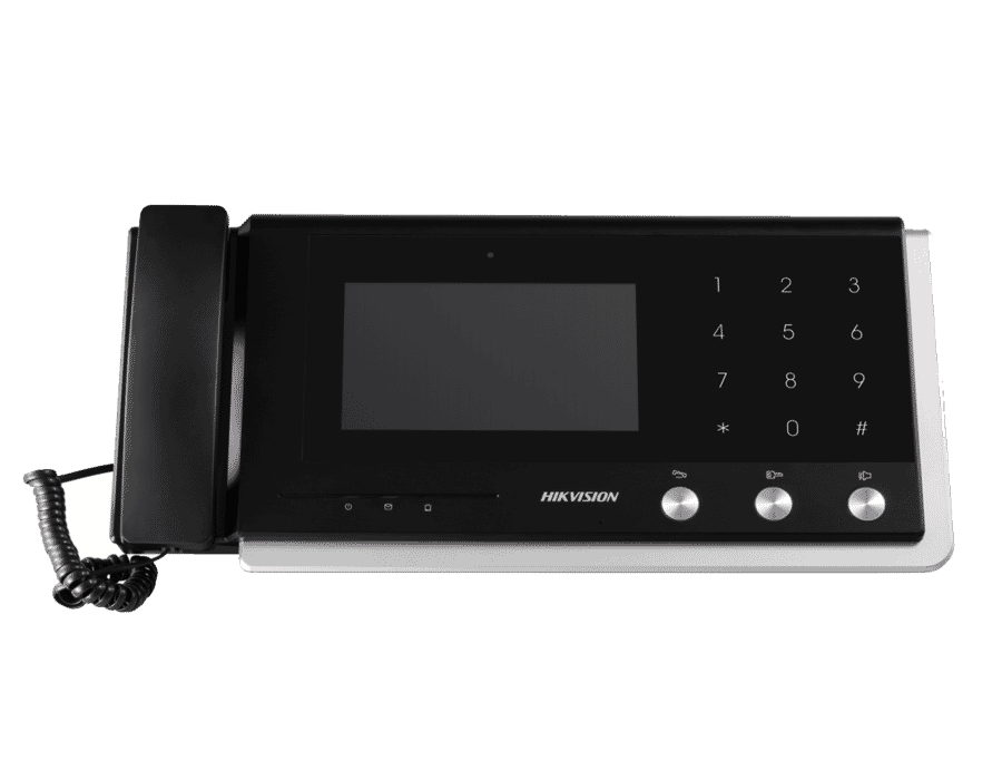 Hikvision DS-KM8301 Video Intercom Screen with Handset