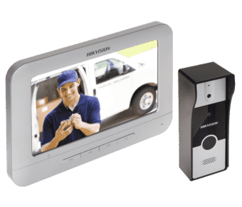 Hikvision DS-KIS202 Analogue Video Intercom Door Entry Kit