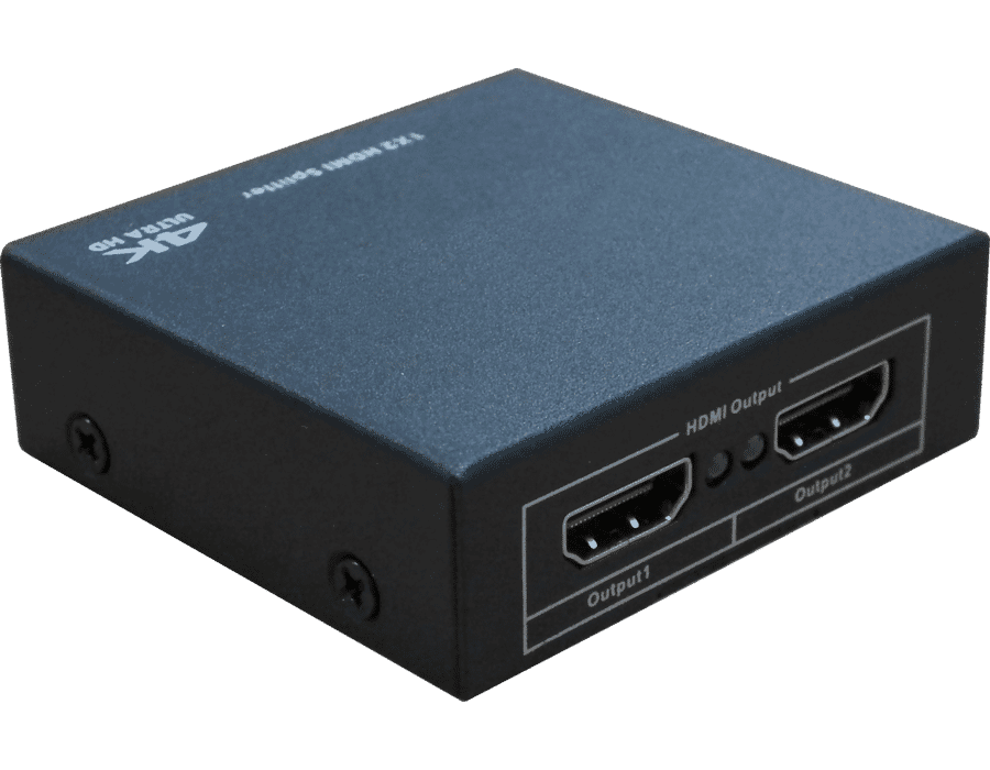 2 Way 4K HDMI 1.4a Active Splitter 1 in 2 out