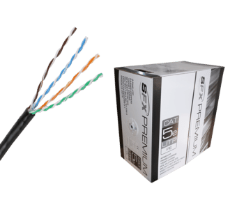 Cat 5e UTP PE External Solid Network Cable