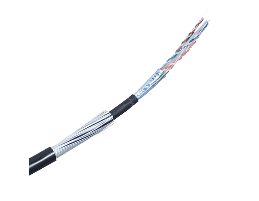 Cat 6 FTP Shielded Solid Armoured SWA (per metre)