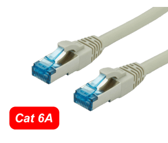 Cat 6A S/FTP Shielded Patch Cable
