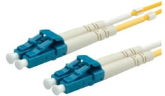 LSOH Fibre Optic patch cable for single mode 9/125 µm