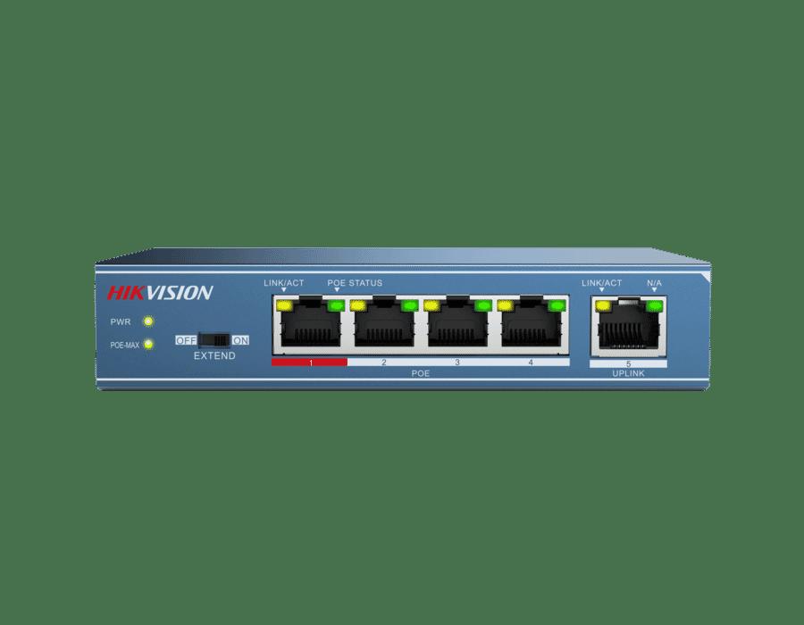 HIKVISION DS-3E0105P-E 5 Port POE+ 10/100 Switch