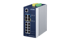 Planet IGS-5225-8T2S2X 8 Gigabit Port Industrial Switch