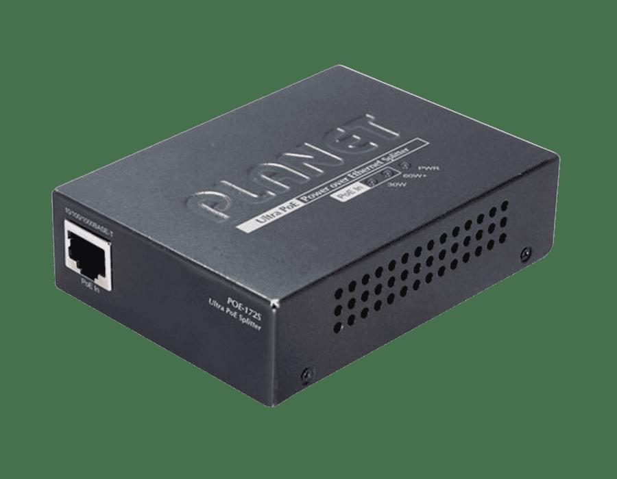 Planet POE-172S Single Port Gigabit Ultra PoE Splitter 12/19/24V