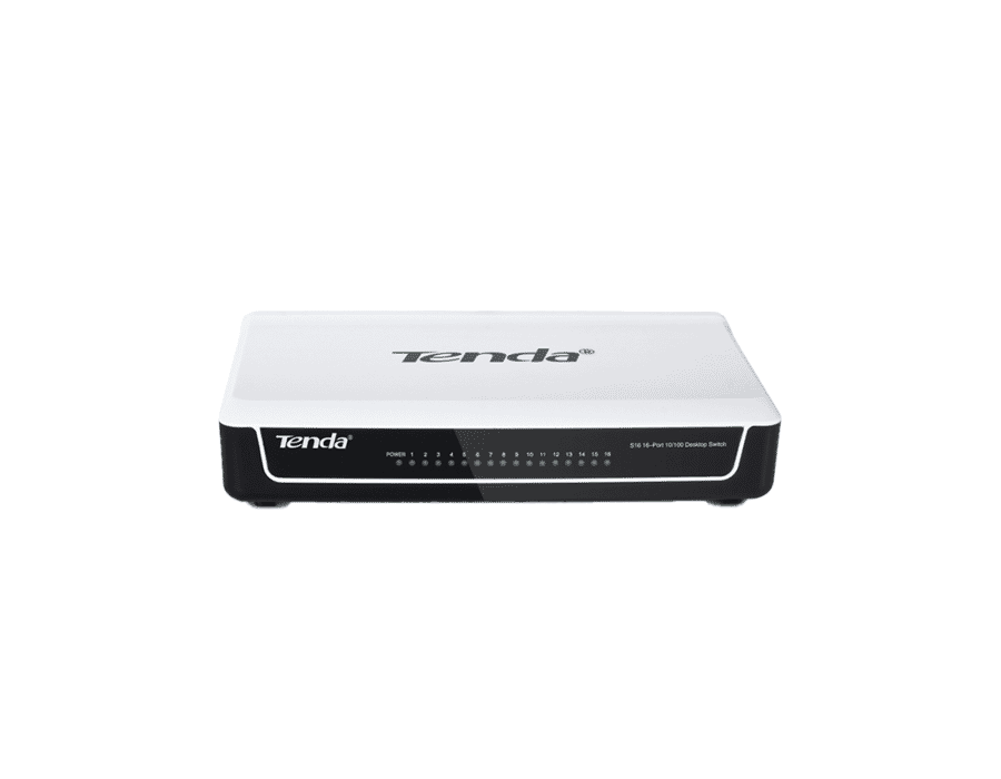 Tenda S16 16 Port 10/100 Ethernet Switch