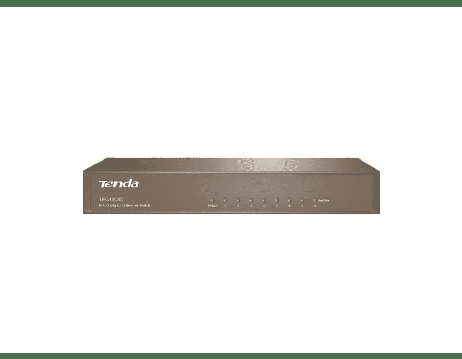 Tenda TEG1008D 8 Port Gigabit Ethernet Switch