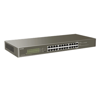 Tenda TEG1124P-24-250W 24 Port Managed Gigabit PoE Switch