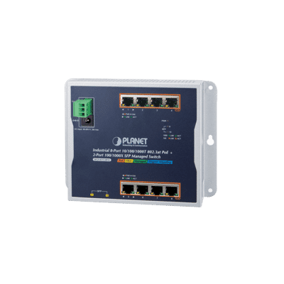 Planet WGS-4215-8P2S Industrial 8 Port PoE+ SFP Switch