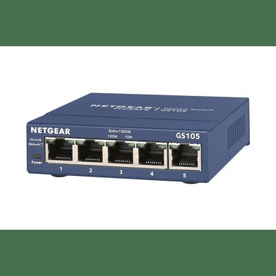 Netgear ProSafe GS105 V5 5-port 12V Gigabit Switch