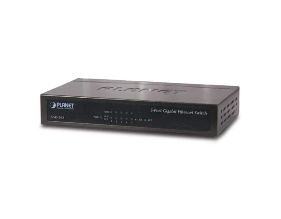 Planet GSD-503 5 Port Gigabit Ethernet switch