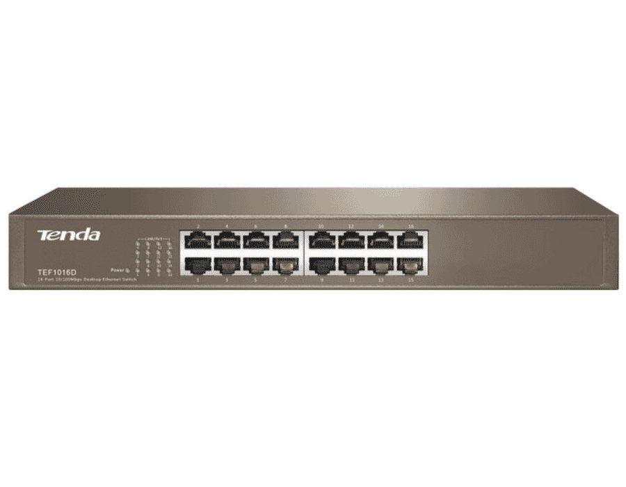 Tenda TEF1016D 16 Port 10/100 Network Switch