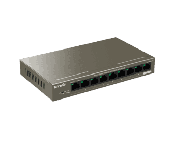 Tenda TEG1109P 8+1 Port Gigabit 802.3af/at 102W PoE Switch