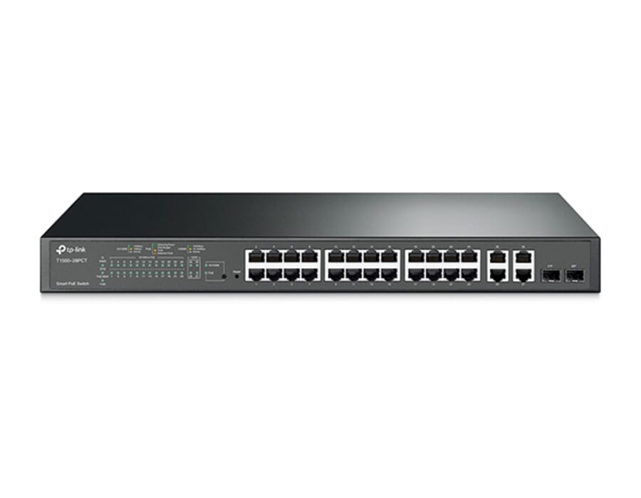 TP-Link T1500-28PCT 24 Port POE Switch with SFP