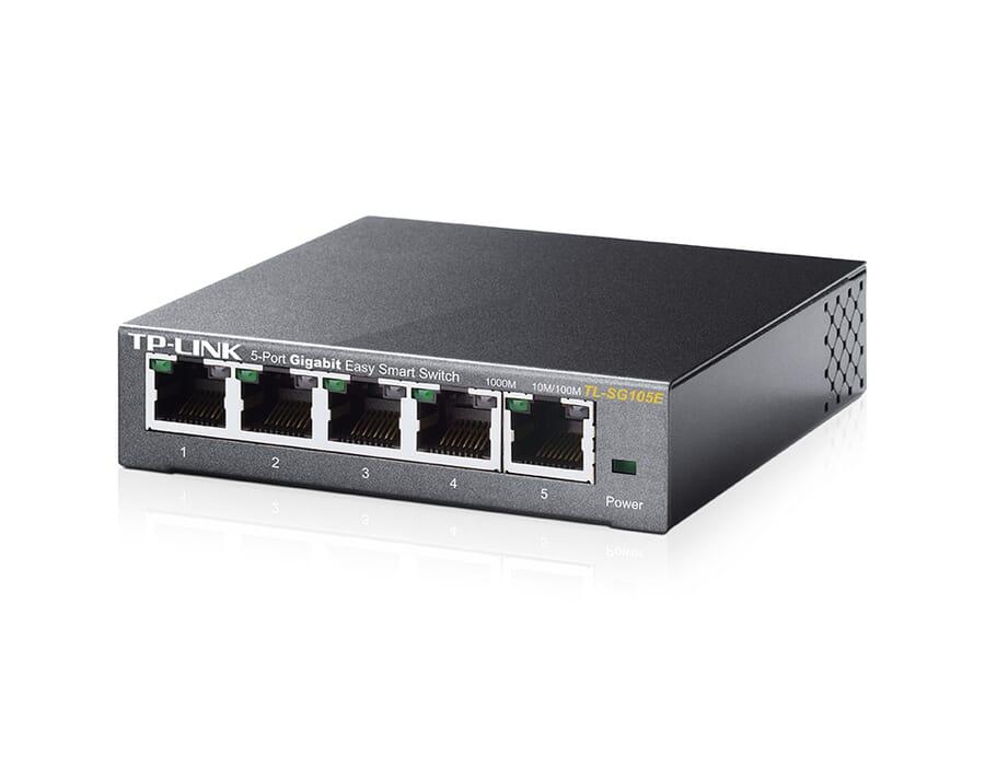 tp-link TL-SG105E 5 Port Gigabit Smart Switch