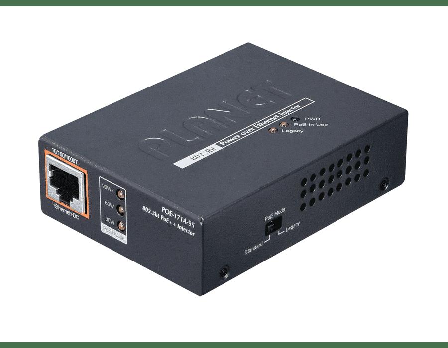 Planet POE-171A-95 Single Port Gigabit 802.3bt 95W PoE Injector