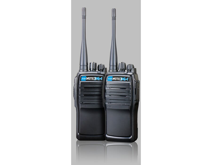 Mitex 446 Xtreme2 License Free UHF Twin Pack 1500mah