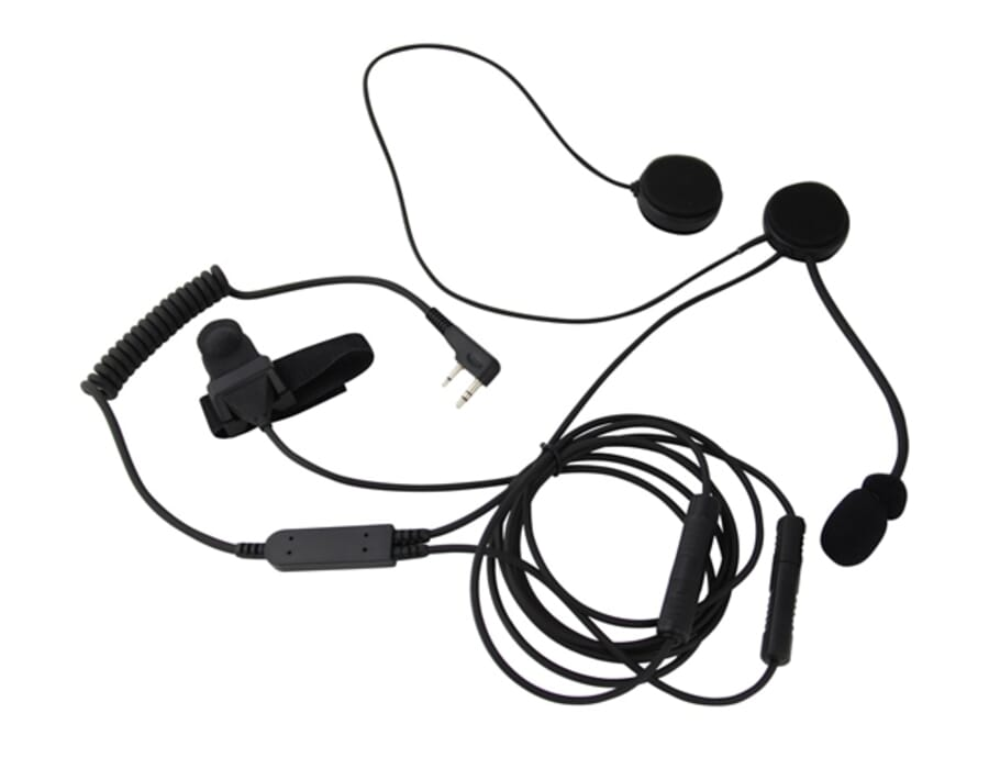 Mitex Bike Kit Open Face headset