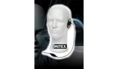 Mitex D-Shape Earpiece with Mic & PTT