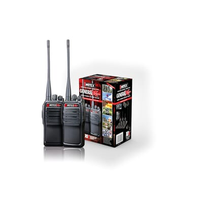 Mitex General Xtreme Twin Pack IP66 UHF 1500mah