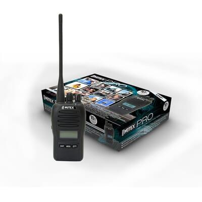 Mitex Pro High Power UHF Radio - Single Pack