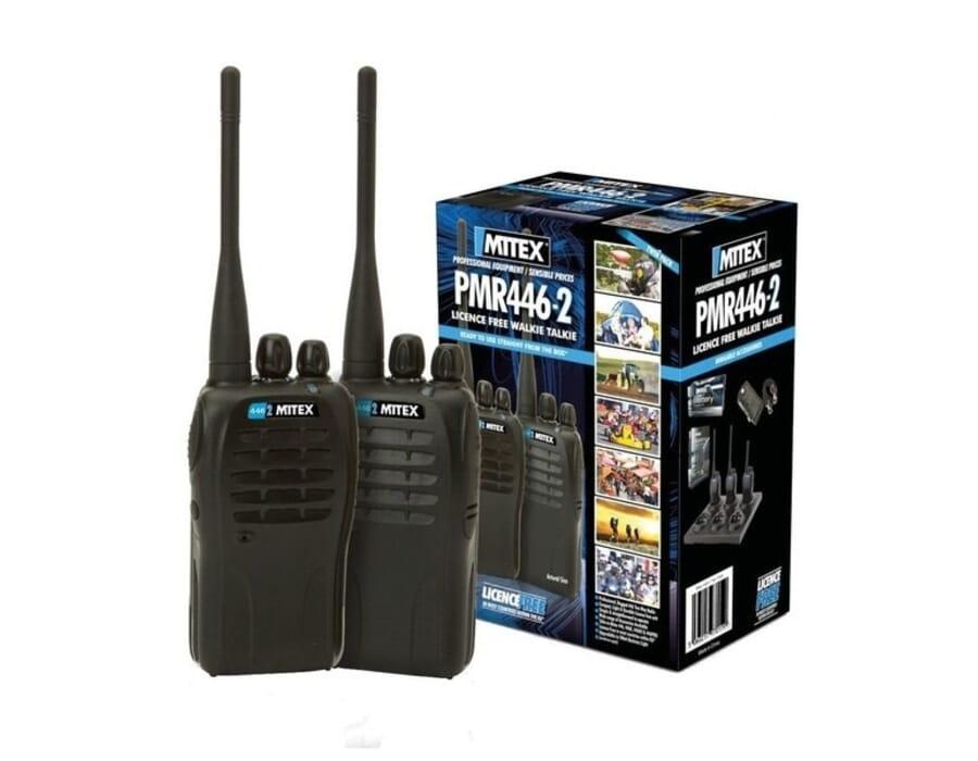 Mitex 446 License Free UHF Twin Pack Two Way Radio