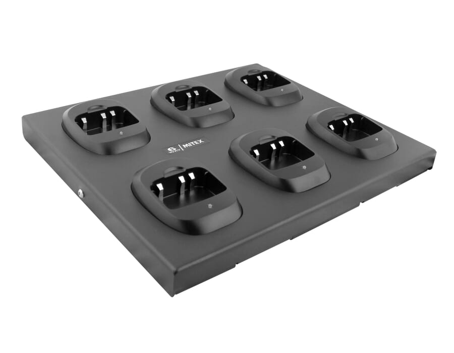 MITEX MTX6W4 6 Way Charger Bay