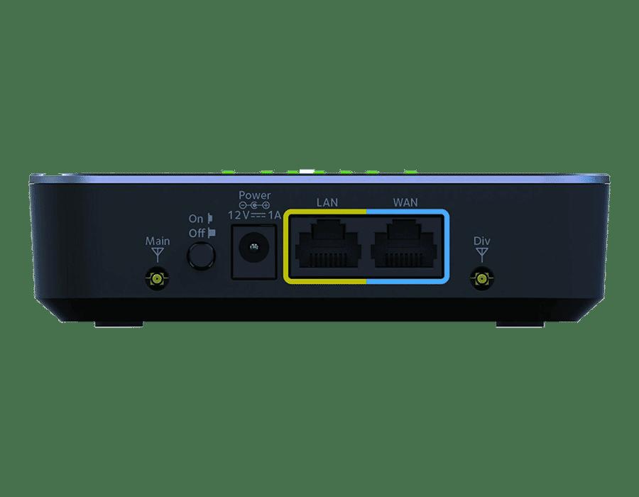 Netgear LB2120 4G/3G Gigabit Modem Router 12V