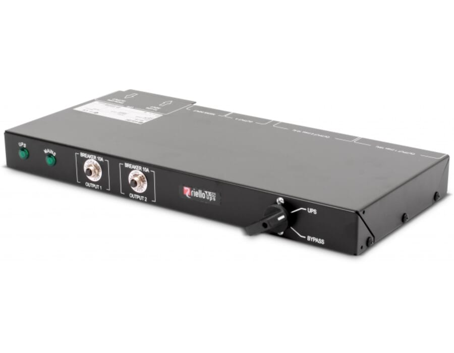 Riello Multipass 16A Rackmount bypass switch