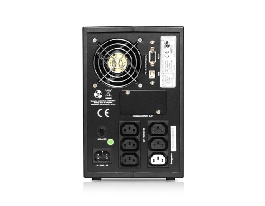 Riello Vision Tower 1500VA UPS Battery Backup