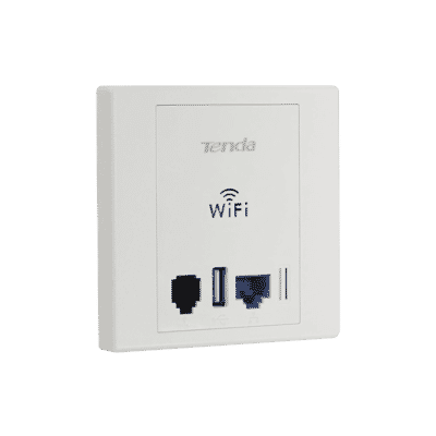 Tenda W6 2.4GHz 11n 300Mbps In Wall Access Point