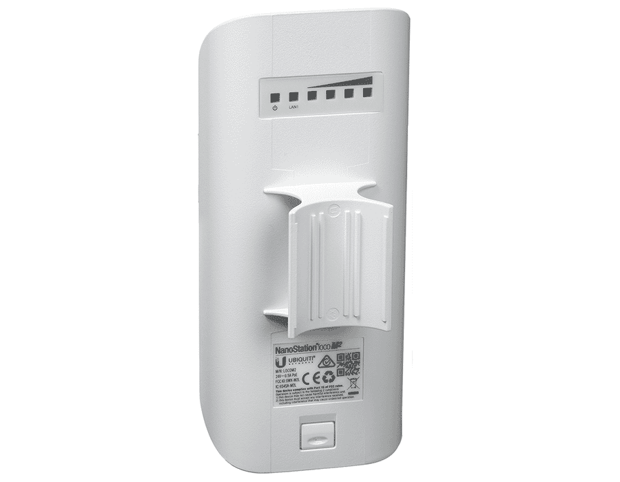 Ubiquiti airMAX NanoStation Loco M2 2.4GHz Wireless Bridge
