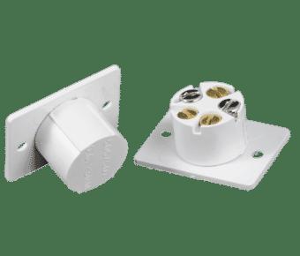 CQR FC505/WH Flush mount door contact white Grade 1