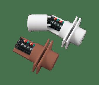 CQR FC508 Multi Flush Mount Door Contact with Built-in Resistors