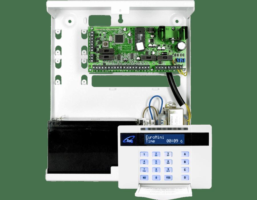Pyronix EURO MINI-P 10 area metal control panel RKP Prox