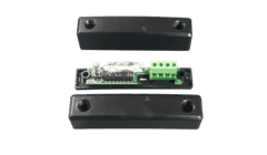 Knight YEND24BK Black Magnetic Alarm Contact G2 Built-in Resistors