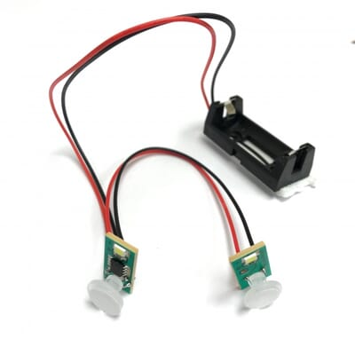 Dual Flashing LED Module for Dummy Alarm or Camera