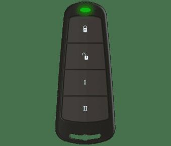 Pyronix 4 button 8 function wireless keyfob