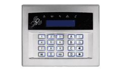 Pyronix Euro Surface or Flush Mount Wired Keypad