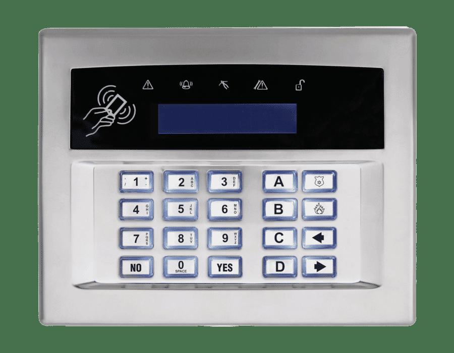Pyronix Premium LCD Surface or Flush Mount Wired Keypad