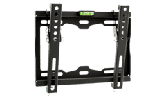 Aura Flat To Wall TV Bracket With Tilt VESA 200x200 14-43 Inch 35kg