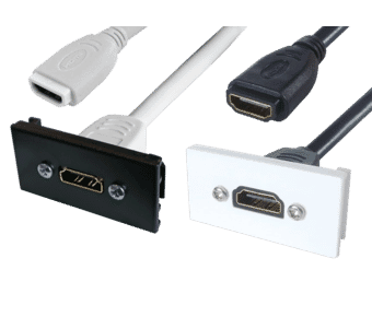 HDMI Single Insert Euro Module