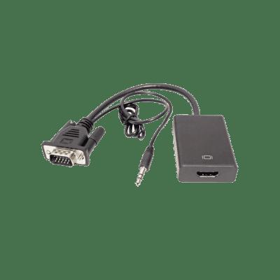 USB Powered VGA & Audio To HDMI Converter