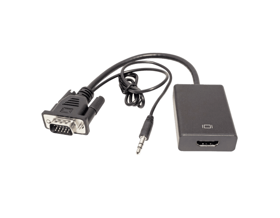 USB Powered VGA & Audio To HDMI Converter